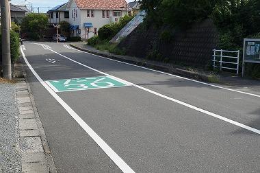 ゾーン30道路標示